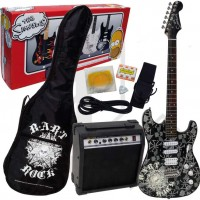 THE SIMPSONS BARTROCK PACK DE GUITARRA ELECTRICA