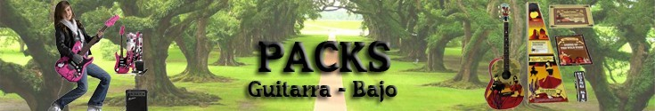 Pack guitarra-bajo